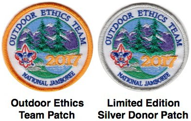 National Jamboree OE Patches